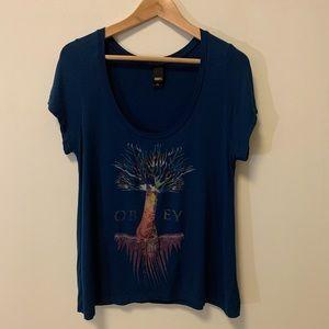 OBEY shirt | Size XS